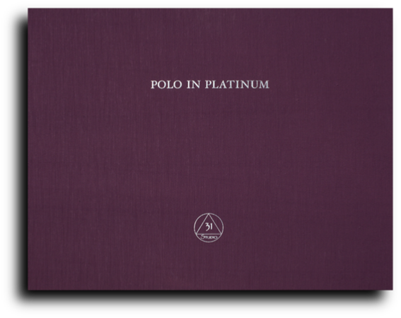 Polo in Platinum - 31-Studio Folio Cover
