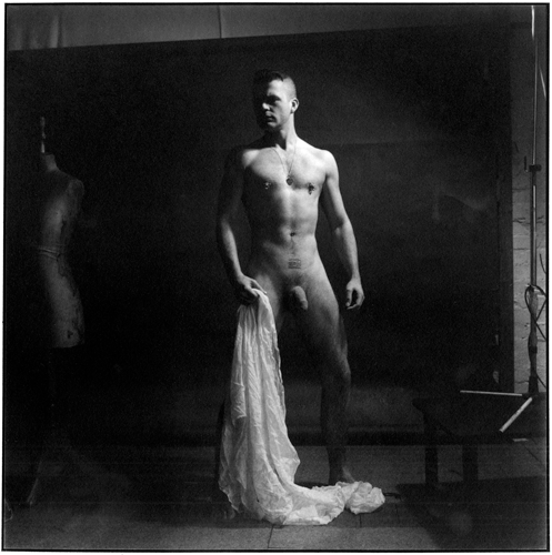 © Richard Sawdon Smith - Self-Portrait - 31-Studio Platinum Print